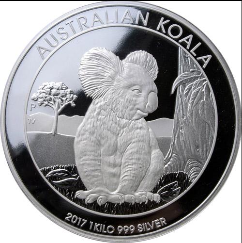 Koala 1 Kilo Proof (differenzbesteuert)  (2017)