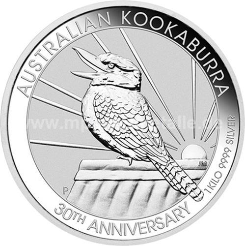 Kookaburra 1 Kilo (differenzbesteuert) (2020)