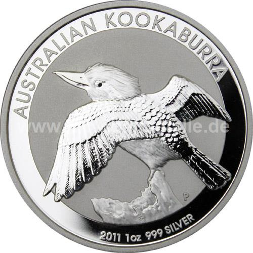 Kookaburra 1oz (differenzbesteuert) (2011)