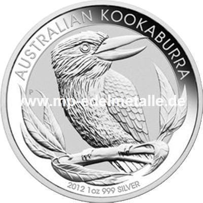 Kookaburra 1oz (differenzbesteuert) (2012)