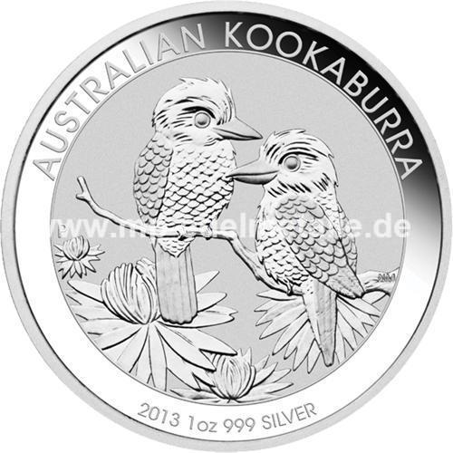 Kookaburra 1oz (differenzbesteuert) (2013)