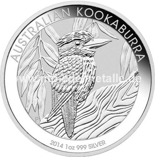Kookaburra 1 Kilo (differenzbesteuert) (2014)