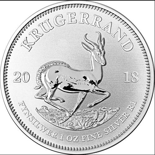Krügerrand Silber 1oz (differenzbesteuert) (2019)