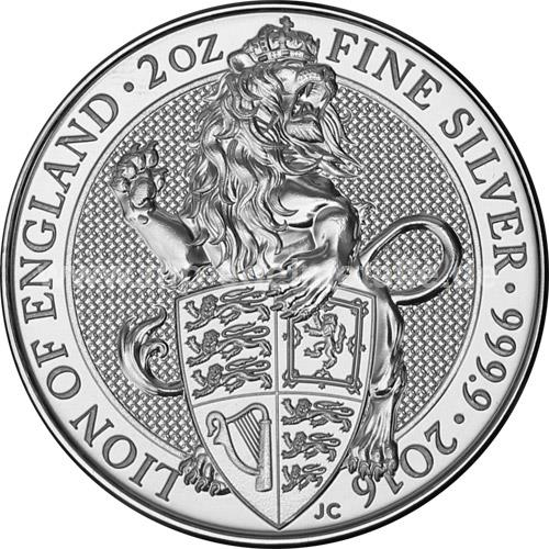 Lion of England (differenzbesteuert) (2016)