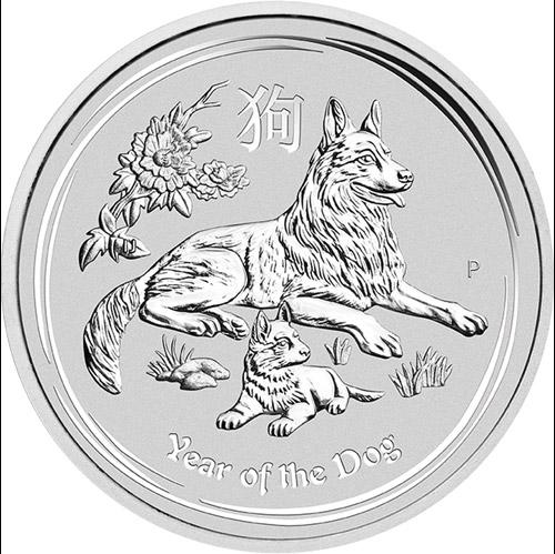 Jahr des Hundes 2oz (differenzbesteuert) (2018)