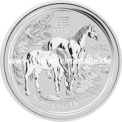 Jahr des Pferdes 1 Kilo (differenzbesteuert) (2014)