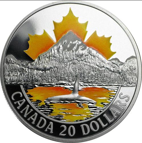 20 Dollar Pacific Coast (differenzbesteuert) (2017)