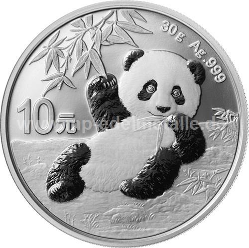 Panda 30 Gramm (differenzbesteuert) (2020)