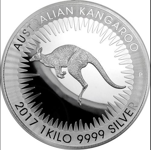 Känguru Perth Mint 1kg Proof (differenzbesteuert) (2017)
