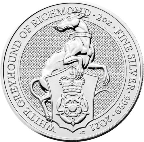 The White Greyhound of Richmond 2oz (differenzbesteuert) (2021)