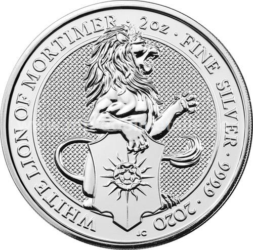 White Lion of Mortimer 2oz (differenzbesteuert) (2020)