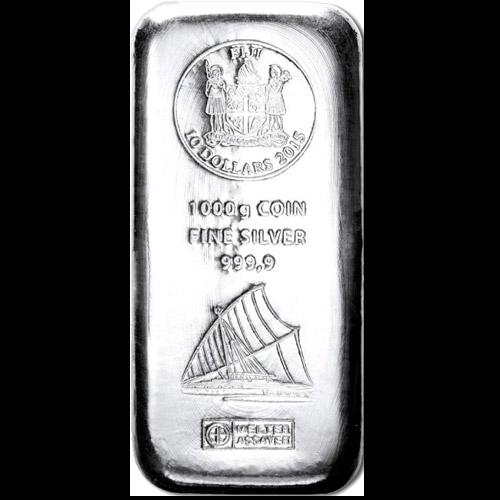 Argor-Heraeus Fiji Münzbarren 1000g (differenzbesteuert)