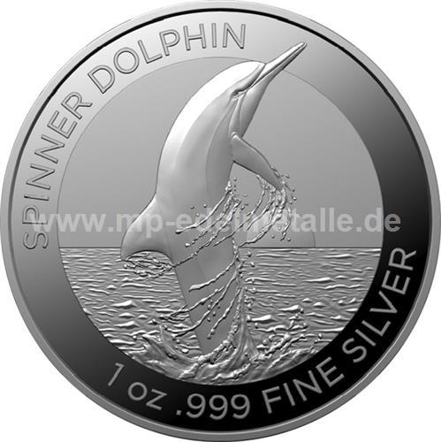 Spinner Dolphin 1 oz (differenzbesteuert) (2020)