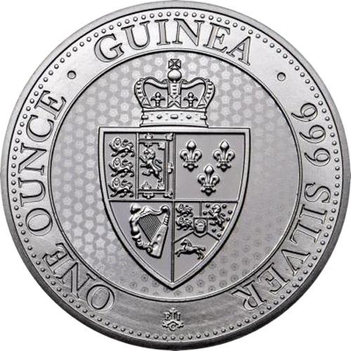 St.Helena Spade Guinea Shield 1 oz (differenzbest.) (2019)