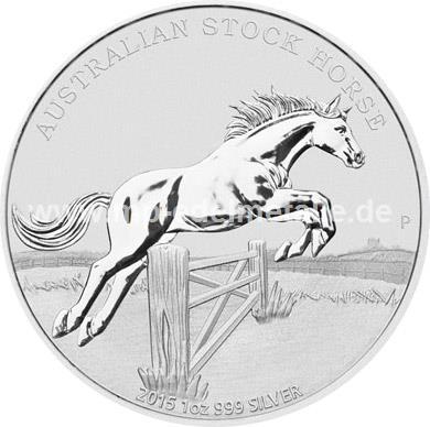 Stock Horse 1oz  (differenzbesteuert)  (2015)