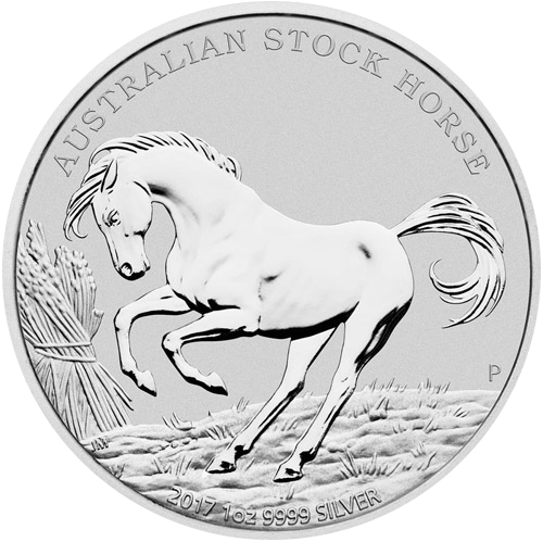 Stock Horse 1oz  (differenzbesteuert) (2017)