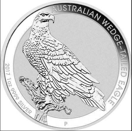 Australian Wedge Tailed Eagle 5oz(differenzbesteuert)  (2017)