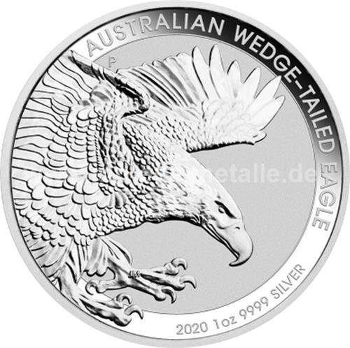 Australian Wedge Tailed Eagle 1 oz (differenzbesteuert) (2020)